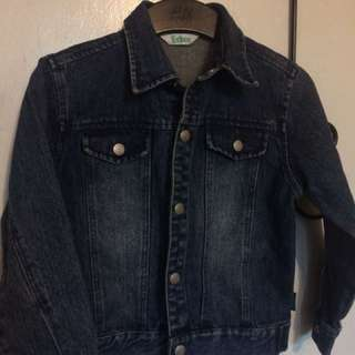 Maong Jacket 3-4years old