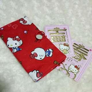 Handmade CNY organizer pouch