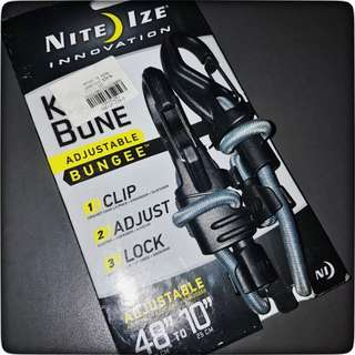 "NiteIze Adjustable Bungee Cord #9 48""-10"""
