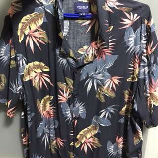 Pull & Bear Tropical Shirt