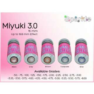 SPARKLE Graded Contact Lens