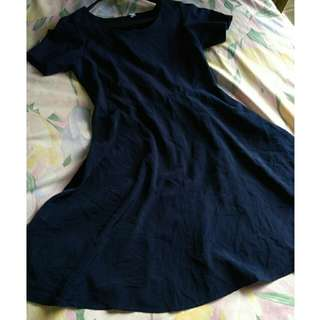 Dress uniqlo navy