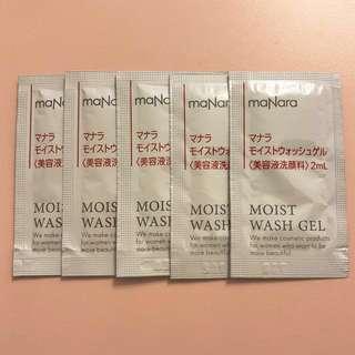 Manara Moist Wash Gel 2ml x 5