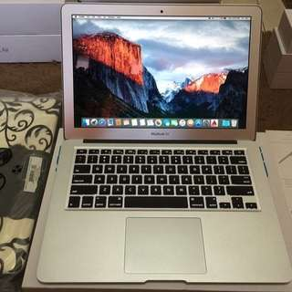 MacBook Air 13 Inch Core i7 CTO 2013