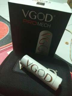 vape vgod pro mech authentic