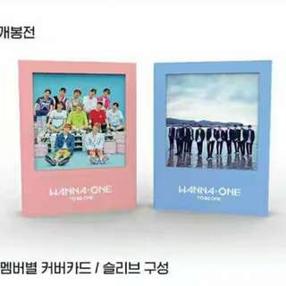 (Preorder before out of stock) WANNA ONE 1x1 (To Be One) 1st Album