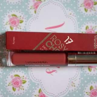 Wardah Exclusive Lip Cream 13 Rossy Cheek