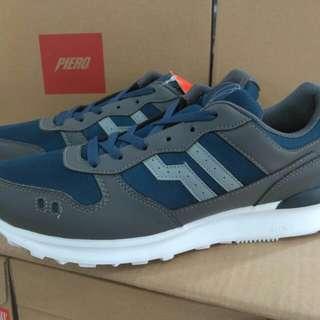 Sepatu sneakers PIERO jogger midnight blue