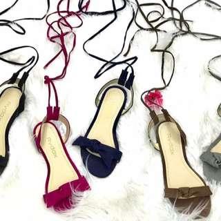 Flat Tie Sandals