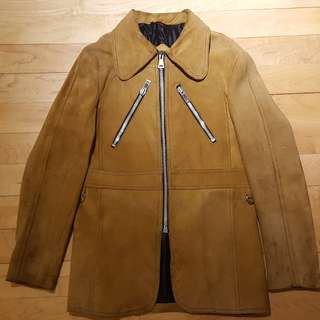 House of sears motorcycle suede jacket