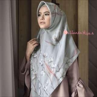 Voal callanda hijab silver