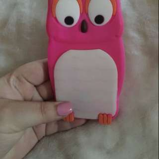Pink and white owl iPhone case for iPhone 5/5s/SE willing to change the price