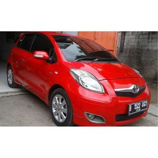 Toyota Yaris E 2010 Manual