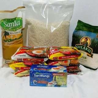 Parcel Paket 7 bisa pakai Box atau Goodie Bag