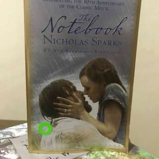 The notebook PB by nicholas sparks