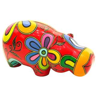 Limited Edition Hippo Sculpture - Bulak lak (M+)