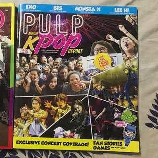 Pulp Annual KPop magazine 2017