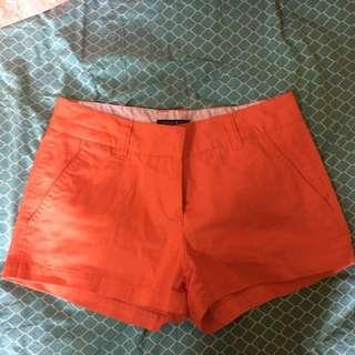 Pink/orange shorts