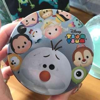 迪士尼 雪寶 小白 tsumtsum 盒