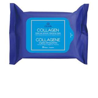 Celkin Collagen make-up remover cleansing wipes (30 sheets)