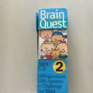Brain quest 7-8 years old