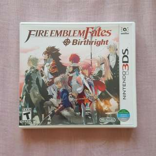 Nintendo 3DS Game: Fire Emblem Fates Birthright