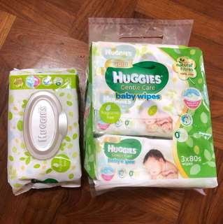 Huggies gold 4packs 80count each