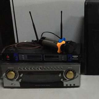50 PERCENT OFF, 6 months old karaoke system