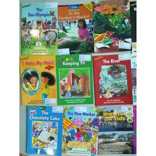 Quality English preschool readers from Kindergarten class, I Can Read and All Aboard Reading graded readers, Readers about various topics for 5-7 yr olds