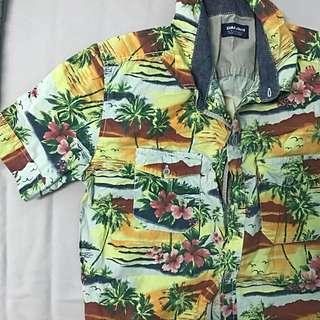 Zara hawaii shirt