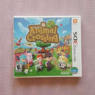 Nintendo 3DS Game: Animal Crossing New Leaf
