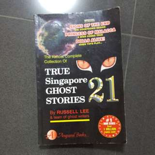 True Singapore Ghost Stories Book 21