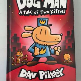 Dog Man A tale of two kittens