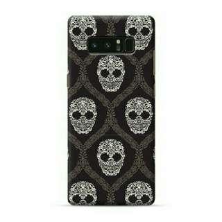 Skull Black Samsung Galaxy Note 8 Custom Hard Case
