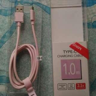 type-C charging kabel
