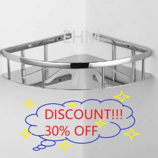 Value Deal - Stainless Steel 304 Single Layer Bathroom Tray ( DISCOUNT!!! 30% )