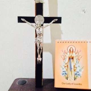 St Benedict Crucifix Medal Hangin Large0