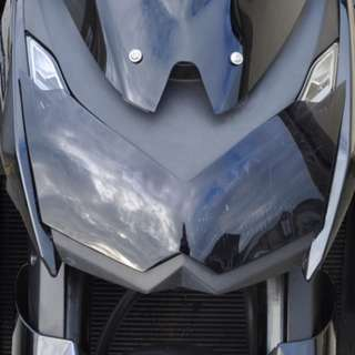 Skidmarx Z1000 2010 to 2013 headlight protector clear $35 (usual price $70)