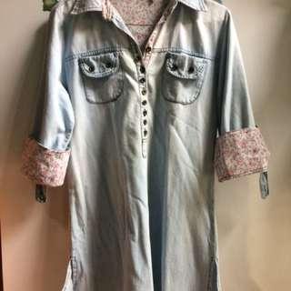 Mini Dress by Levis size M