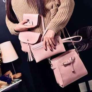 Korean Sling bag 4in1 Price: 360.00 rt