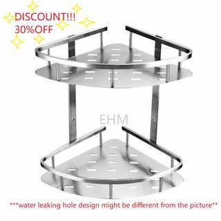 Value Deal - Stainless Steel 304  Double Layer Bathroom Tray ( DISCOUNT!!! 30% )