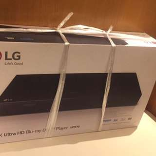 Lg 4 k blu ray player