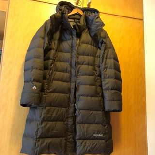 Montbell Goose down long jacket (north face/aigle)
