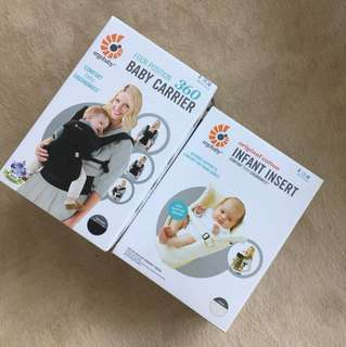 Baby Carrier + Infant Insert