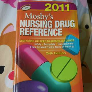 Mosby's nursing drug reference 24th edition 2011