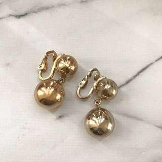 現貨在台灣美國二手Vintage 1970-1980s夾式耳環