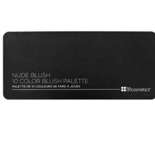Cosmetics Nude Blush 10 Colour Palette