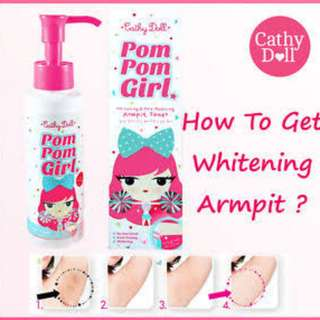 Cathy Doll Pom Pom Girl Armpit Whitener Pore-Reducing Toner