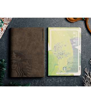 2018 large Starbucks Planner (Green / sealed)