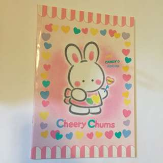 Sanrio vintage Cheery Chums notebook 單行簿 1994